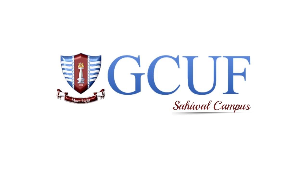 GCUF Sahiwal Campus Merit List 2019 – HitPakistan